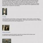 PIstes pour l'imaginaire des visiteurs pour le site 2